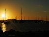 Sunset over Marigot