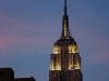 Sunset over the Empire State Building